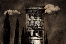 Monotype - Immeuble à Ostuni - Gerard Jan